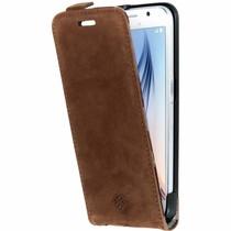 iMoshion Flip Case Braun für das Samsung Galaxy S6