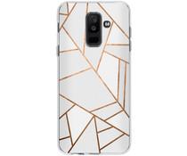 Design TPU Hülle für das Samsung Galaxy A6 Plus (2018)