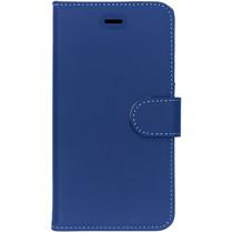 Accezz Blaues Wallet TPU Booklet für das Huawei Y6 (2017)