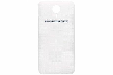 General Mobile Battery Cover Weiß für das General Mobile 4G / GM5