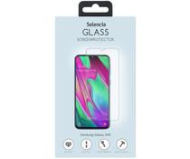 Selencia Displayschutz aus gehärtetem Glas Samsung Galaxy A40