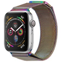 iMoshion Milanese Watch Armband Apple Watch 38/40 mm - Multicolor