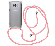 iMoshion Backcover mit Band Rosa für das Samsung Galaxy S8