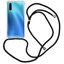 iMoshion Backcover mit Band Schwarz für das Huawei P30