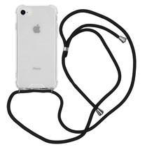 iMoshion Backcover mit Band Schwarz für das iPhone SE (2020) / 8 / 7