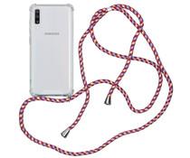 iMoshion Backcover mit Band Lila für das Samsung Galaxy A70