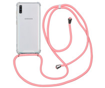 iMoshion Backcover mit Band Rosa für das Samsung Galaxy A70