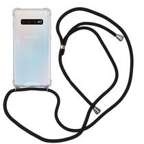 iMoshion Backcover mit Band Schwarz für das Samsung Galaxy S10