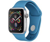 Silikon-Sportband Blau für die Apple Watch 44 / 42 mm