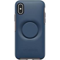 OtterBox Otter + Pop Symmetry Backcover Blau für das iPhone Xs / X