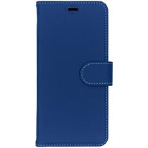 Accezz Wallet TPU Booklet Blau für das Nokia 5.1