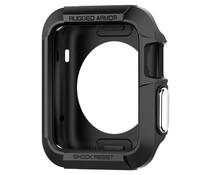 Spigen Rugged Armor Case Schwarz für Apple Watch 42 mm