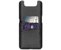 Cardholder Backcover Schwarz für das Samsung Galaxy A80