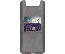 Cardholder Backcover Grau für das Samsung Galaxy A80