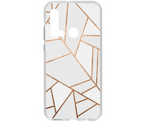 Design Silikonhülle für das Huawei P20 Lite (2019)