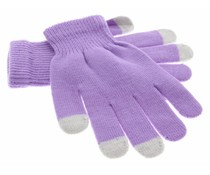 iMoshion Glatte Touchscreen-Handschuhe - Violett