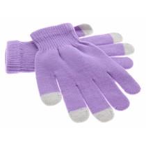 iMoshion Glatte Touchscreen-Handschuhe - Violett