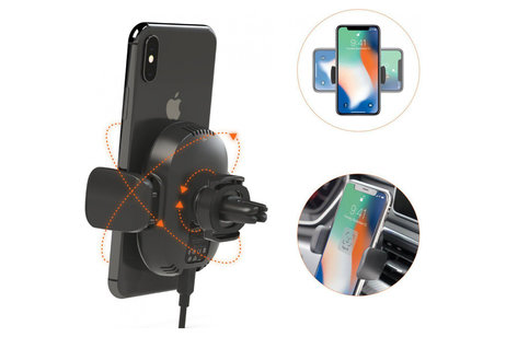 Kenu Airframe Wireless Fast Charging Vent Mount Holder