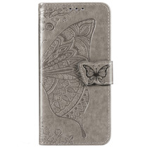 Schmetterling Softcase Klapphülle Samsung Galaxy M20 Power