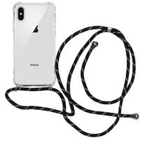 iMoshion Backcover mit Band Schwarz Gold für das iPhone Xs / X
