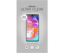 Selencia Duo Pack Ultra Clear Screenprotector Samsung Galaxy A70