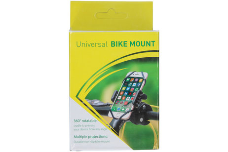 MobileChoize Handyhalterung Schwarz für das Fahrrad