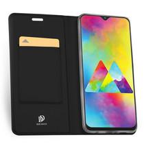 Dux Ducis Slim TPU Booklet Schwarz für das Samsung Galaxy M20 Power
