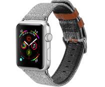 Dux Ducis Canvas Band Grau für das Apple Watch 40 / 38 mm