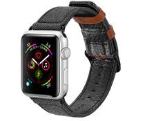 Dux Ducis Canvas Band Schwarz für das Apple Watch 40 / 38 mm