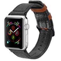 Dux Ducis Canvas Band Schwarz für die Apple Watch 40 / 38 mm