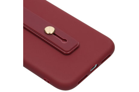 iPhone Xr hülle - Softcase Backcover mit Schlaufe
