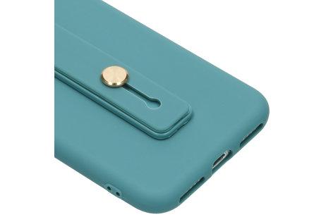 Softcase Backcover mit Schlaufe Turkïs für das iPhone 8 / 7