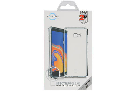 Samsung Galaxy J4 Plus hülle - Itskins Spectrum Backcover Transparent