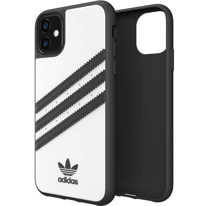 adidas Originals Moulded Case Samba Weiß Schwarz für das iPhone 11