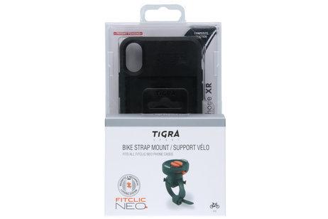 Tigra FitClic Neo Backcover + Bike Strap Mount für das iPhone Xr