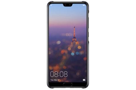 Huawei P20 Pro hülle - Huawei Color Backcover Schwarz