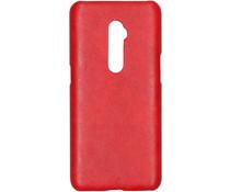Kunststoff-Backcover Rot für das Oppo Reno 10x Zoom