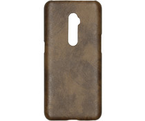 Kunststoff-Backcover Braun für das Oppo Reno 10x Zoom