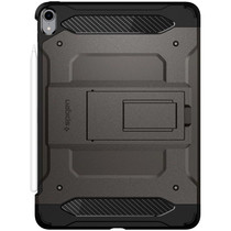 Spigen Tough Armor Tech Backcover Grau iPad Pro 11 (2018)