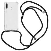 iMoshion Backcover mit Band Schwarz für das Huawei P30 Lite