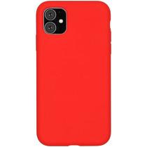 Accezz Liquid Silikoncase Rot für das iPhone 11