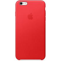 Apple Leder-Case Rot für das iPhone 6(s) Plus