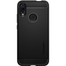 Spigen Rugged Armor Case Schwarz für das Xiaomi Redmi Note 7 (Pro)