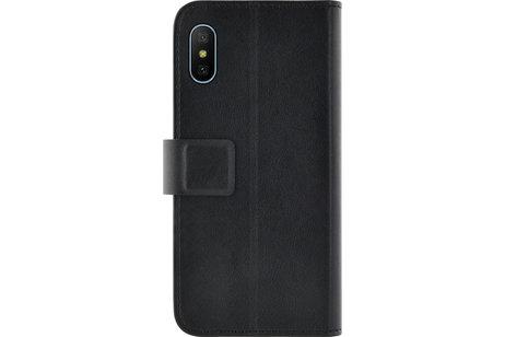 Xiaomi Mi A2 Lite hülle - Azuri Booklet Case Schwarz
