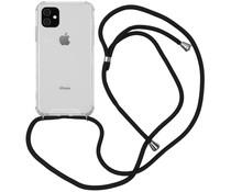 Backcover mit Band Schwarz für das iPhone 11