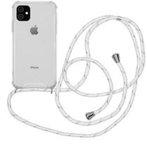 iMoshion Backcover mit Band Weiß Silber für das iPhone 11