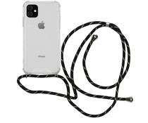 iMoshion Backcover mit Band Schwarz Gold für das iPhone 11