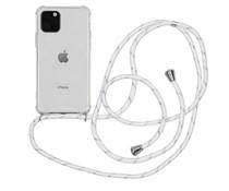 iMoshion Backcover mit Band Weiß Silber für das iPhone 11 Pro