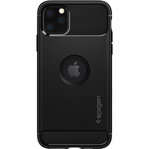 Spigen Rugged Armor Case fürSchwarz iPhone 11 Pro