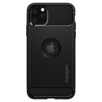 Spigen Rugged Armor Case fürSchwarz iPhone 11 Pro Max